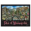 PubsOf 'Minneapolis, MN' by Brian McKelvey Poster Painting Print