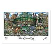 PubsOf 'Green Bay Packers, WI' by Brian McKelvey Painting Print