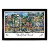 PubsOf 'Mount Pleasant, MI' by Brian McKelvey Frame Painting Print
