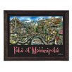 PubsOf 'Minneapolis, MN' by Brian McKelvey Frame Poster Painting Print