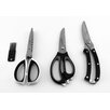 BergHOFF International Herb Scissors; Cleaning Brush; Kitchen Scissors; Poultry Shears