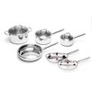 BergHOFF International Boreal Stainless Steel 10-Piece Cookware Set