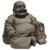 Hi-Line Gift Ltd. Happy Sitting Buddha Statue