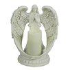 Hi-Line Gift Ltd. Angel Flameless Hurricane