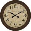 "Nielsen Bainbridge Pinnacle 18"" Glenmont Small Global Clock"