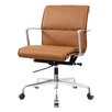 Meelano Mid-Back Leather Office Chair