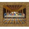 Classy Art Wholesalers Last Supper Inspired by Paolo Framed Painting Print
