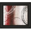 Classy Art Wholesalers Tricolored Gestures II by Michael Marcon Framed Painting Print