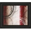 Classy Art Wholesalers Tricolored Gestures I by Michael Marcon Framed Painting Print