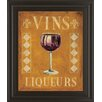 Classy Art Wholesalers Cocktail Hour II by Catherine Jones Framed Vintage Advertisement
