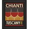 Classy Art Wholesalers Chianti by Pela Studio Framed Vintage Advertisement
