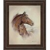 Classy Art Wholesalers Race Horse II by Ruane Manning Framed Graphic Art