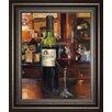 Classy Art Wholesalers A Reflection of Wine 3 by Marilynn Hagema Framed Painting Print