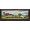 Classy Art Wholesalers Hay Harvest by Lori Dieter Framed Photographic Print