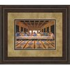 Classy Art Wholesalers Last Supper Framed Painting Print