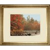 Classy Art Wholesalers Foggy River by Mike Jones Framed Photographic Print