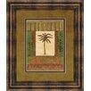Classy Art Wholesalers Classic Palm I by Rebecca Burton Framed Painting Print