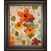 Classy Art Wholesalers Vibrant Embroidery III by Silvia Vassileva Framed Painting Print