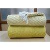 Affinity Linens Elegancia 2 Piece Cotton Chevron Throw Blanket Set