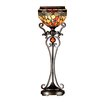 """Dale Tiffany Briar Dragonfly Uplight 28"""" H Table Lamp with Bowl Shade"""