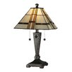 """Dale Tiffany Atherton 21.75"""" H Table Lamp with Empire Shade"""