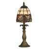 "Dale Tiffany Enid 14.5"" H Table Lamp with Bowl Shade"
