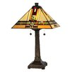 """Dale Tiffany Palo Mission 24.5"""" H Table Lamp with Empire Shade"""