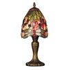"Dale Tiffany Vickers 15"" H Table Lamp with Bowl Shade"