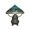 "Dale Tiffany 21.75"" H Table Lamp with Cone Shade"