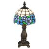 """Dale Tiffany Daisy 12.5"""" H Table Lamp with Bowl Shade"""