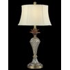 """Dale Tiffany Crystal Golden 27.8"""" H Table Lamp with Bell Shade"""