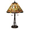 "Dale Tiffany Baja 25.5"" H Table Lamp with Empire Shade"