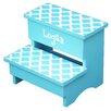 Renditions by Reesa 1-Step Personalized Trellis Step Stool