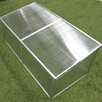 Zenport 1.5 Ft. W x 3.5 Ft. D Cold Frame Greenhouse