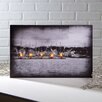 Ohio Wholesale Lighted Harbor Wrapped Photographic Print on Canvas