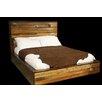 Utah Mountain Urban Rustic Panel Bed