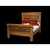 Utah Mountain Barnwood Stagecoach Panel Bed