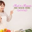 Style and Apply Meals and Memories Wall Decal