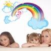Style and Apply Rainbow Fairy Wall Decal
