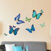 Style and Apply Natural Butterflies Wall Decal