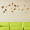 Style and Apply Orange Butterfly Wall Decal