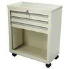 Lakeside Manufacturing Three Drawer Bedside Cart