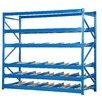 Vestil Carton Rack with Gravity Roll 5 Flow Levels