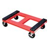 "Vestil 18.5"" x 30"" x 18"" Padded Top Dolly"