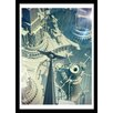 Curioos Moscow 2050/06 by Shelest Framed Graphic Art