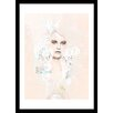 Curioos Bleached and Numb by Raphaël Vicenzi Framed Painting Print