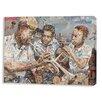 Prestige Art Studios Blues Boys on Wrapped Canvas