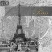 Prestige Art Studios Eternal Paris Framed Graphic Art