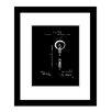 Prestige Art Studios Edison Light Bulb Framed Graphic Art