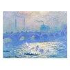 Prestige Art Studios Waterloo Bridge by Claude Monet Painting Print